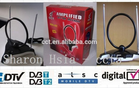 Atsc/dvb-t Antenna Amplified