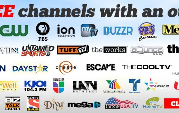 Get Over 80 FREE Channels With