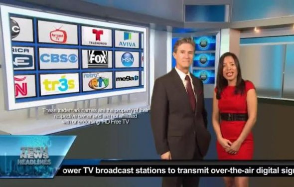 HD Free TV Antenna TV Spot