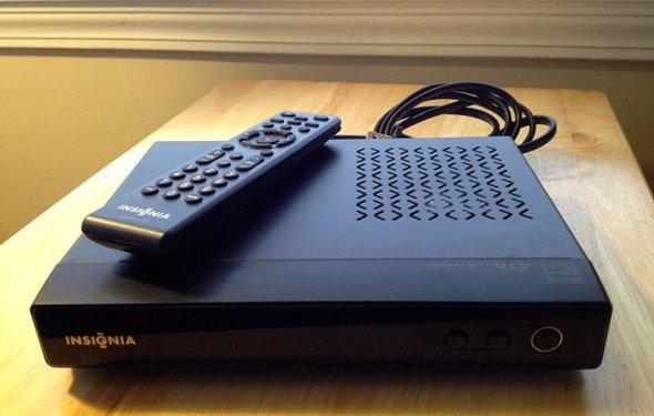 Antenna to a Converter Box