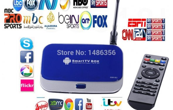 Digital tv top box cs918 q7
