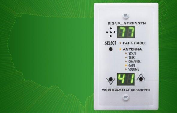 SensarPro TV Signal Strength