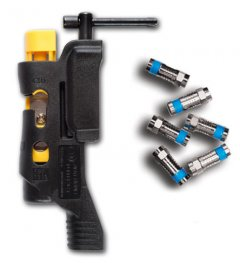 COAXMAX 5-in-1 multi-use Cable Termination Tool