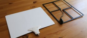 Mohu Leaf and Cable Cutter Aerowave antennas
