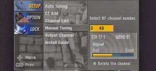 Digital TV Tuning