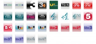 DTV air channels