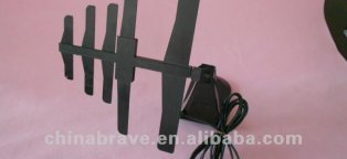 Indoor satellite TV antenna