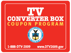 Vouchers for DTV converter bins available these days from U.S. federal government